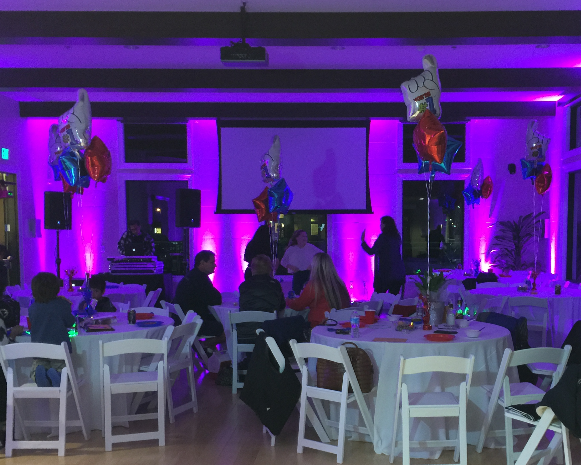 Private Event Uplighting