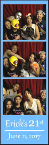 Birthday Event Photo Booth