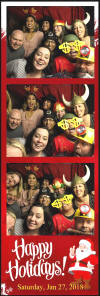 Company Holiday Event Photo Booth